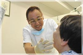 1.診察(入れ歯をつくることを前提として)+ご相談のイメージ