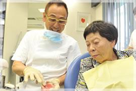 5.義歯の完成と最終調整のイメージ